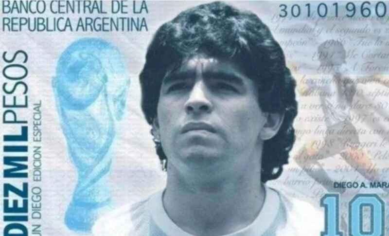 Argentina – Maradona finisce sulle banconote da mille pesos: presentato il disegno di legge
