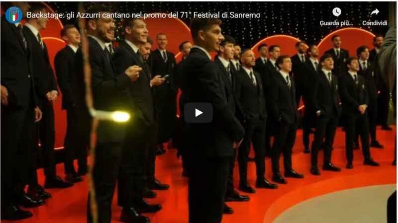VIDEO- Insigne, Di Lorenzo e Meret cantano a… Sanremo