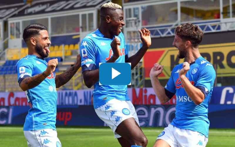 VIDEO – I gol più belli del Napoli nel 2020