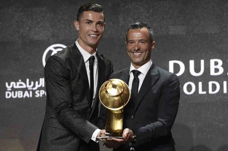 Globe Soccer Awards – Jorge Mendes miglior agente, CR7 migliore del secolo