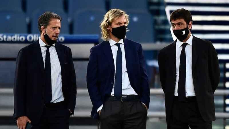 VIDEO – Napoli-Juve, Paratici e Nedved: urla e offese verso il quarto uomo