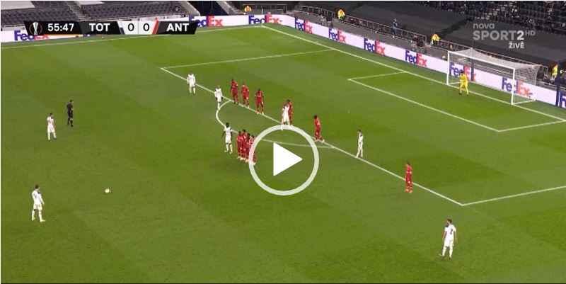 VIDEO- L'ex Napoli Vinicus regala il vantaggio al Tottenham