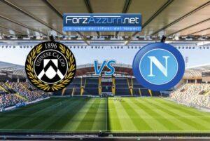 Udinese Napoli, le formazioni ufficiali delle due compagini
