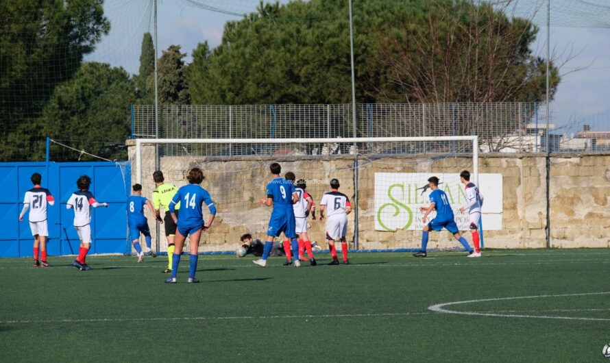 UNDER 15 – Terminato il TEST-MATCH Paganese-Napoli