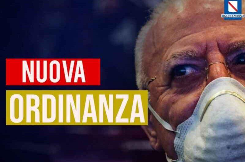 """De Luca: """"In Campania da lunedì chiuse tutte le scuole: servono misure drastiche"""""""