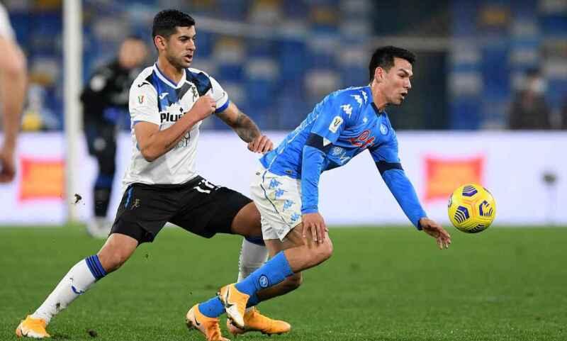 Napoli, in Coppa Italia contro l'Atalanta probabile ritorno al 3-4-3