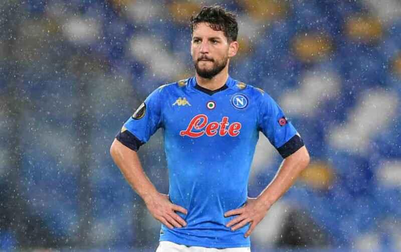 """Napoli-Cagliari, I quotidiani bocciano Mertens: """"Da lui ci si aspetta di più"""""""