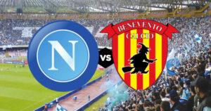Napoli-Benevento    streaming e tv    dove vedere la 24a giornata di Serie A