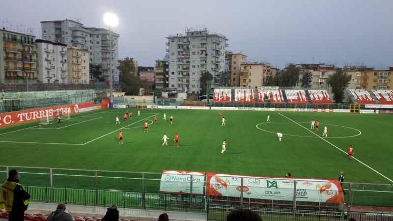 L'altra Campania – La Turris torna alla vittoria: 2-1 alla Casertana