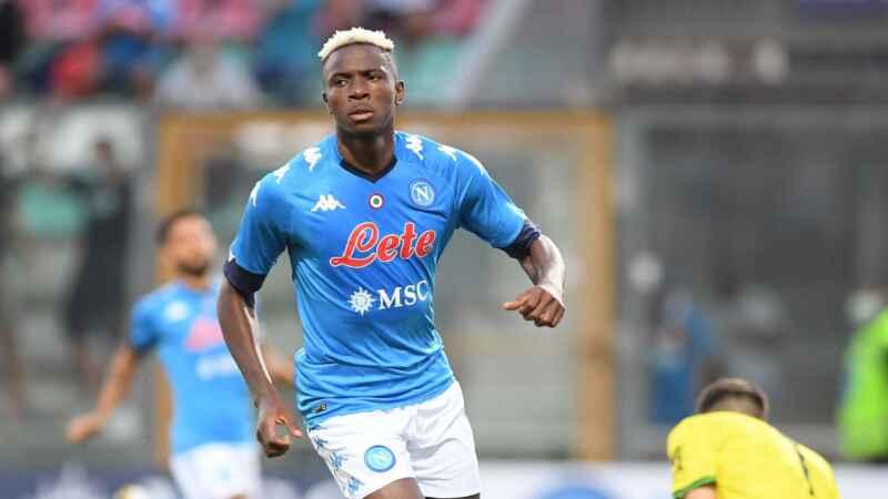 """Napoli, il fratello di Osimhen: """"Senza assist non può fare gol"""""""