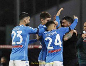 Napoli |  non bastano Zielinski e Fabian |  agli ottavi va il Granada