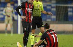 Infortunio Ibrahimovic