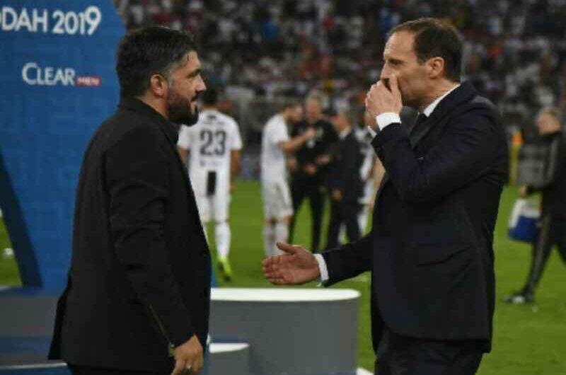 """Branchini ag. Allegri: """"Napoli? Tante proposte, accetterà solo un progetto importante"""""""