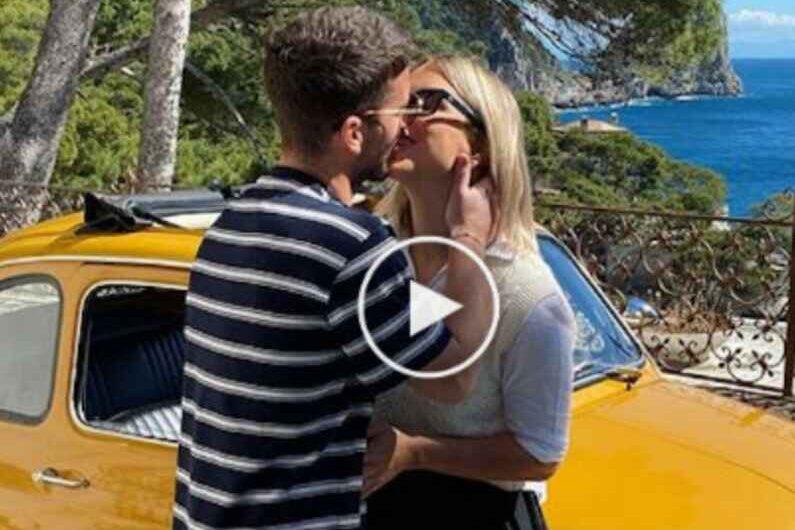 """VIDEO – Kate sui social: """"È stato sull'isola di Capri che mi ha trovato"""""""