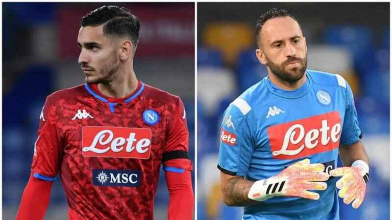 Verso Napoli-Torino: Meret in vantaggio su Ospina dal primo minuto