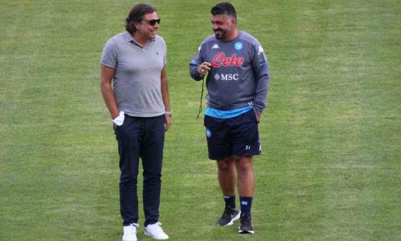 Napoli, a fine stagione via Gattuso e Giungoli. Petrachi favorito per il ruolo di ds