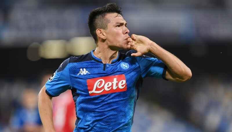 Milan-Napoli, Lozano non ancora al 100%, non sarà in campo dall'inizio