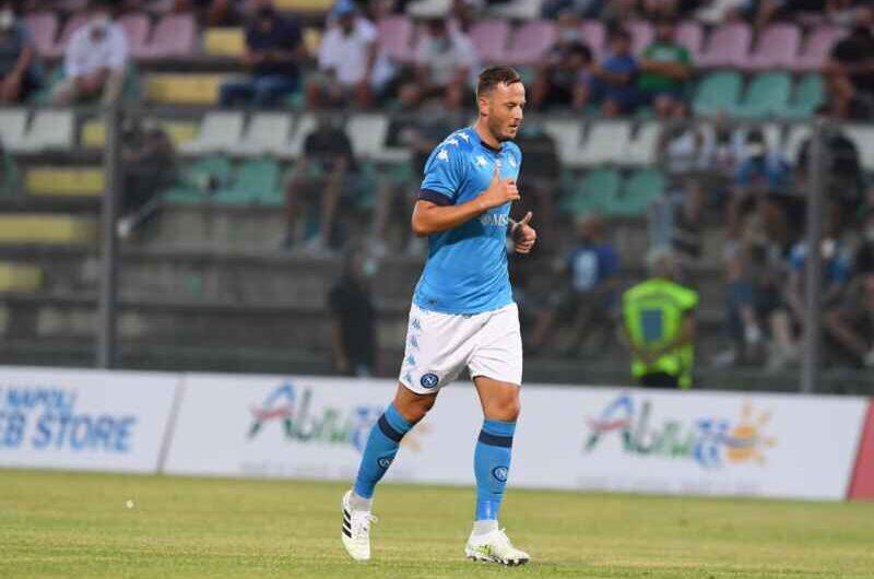 """Rrahmani, parla l'agente: """"Desidera diventare il capitano del Napoli"""""""