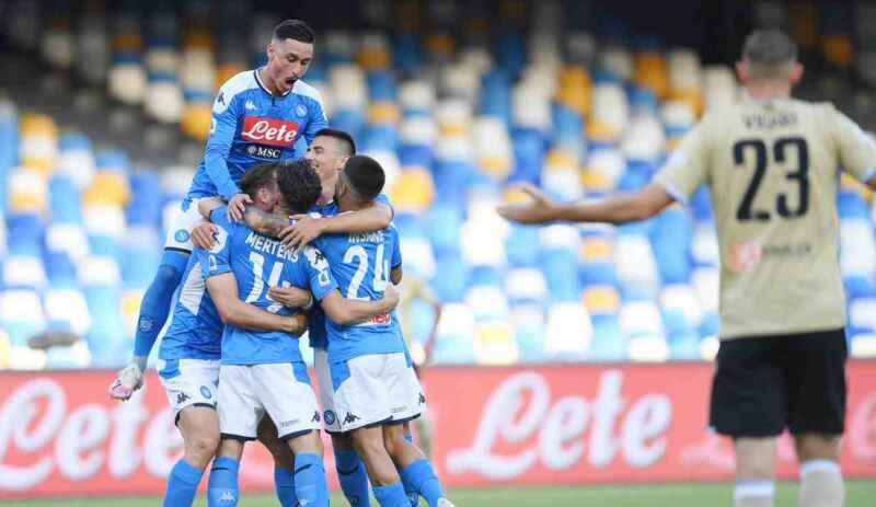 Napoli, che numeri: nel girone di ritorno sono al secondo posto