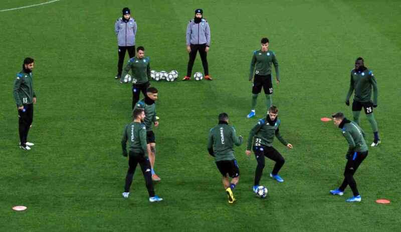 Napoli, report allenamento: Lobotka assente, terapie per Rramhani