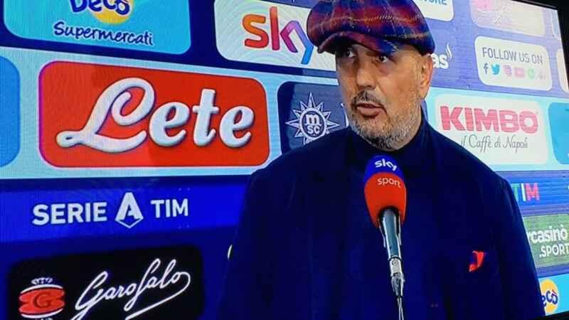 """Mihajlović: """"Diciamo che noi abbiamo giocato e loro facevano gol"""""""