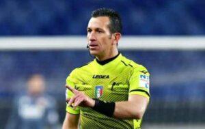 UFFICIALE – Daniele Doveri è l'arbitro di Napoli Inter: la sestina completa