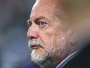 Napoli: De Laurentiis furioso per il rigore mancante contro la Roma