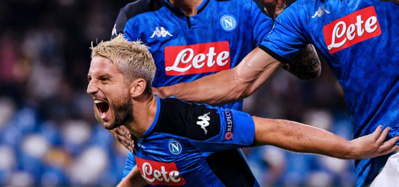 Napoli, con Mertens attacco ritrovato: altro record per il belga