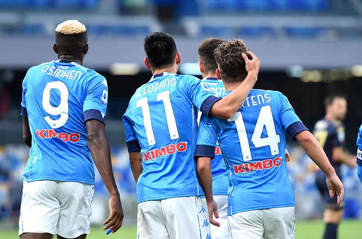 Napoli-Cagliari: due azzurri recuperati in vista del match di domenica