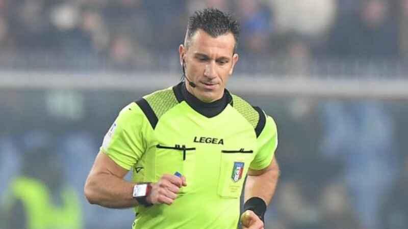 Arbitri & Arbitri: Daniele Doveri sarà l'arbitro di Napoli-Inter