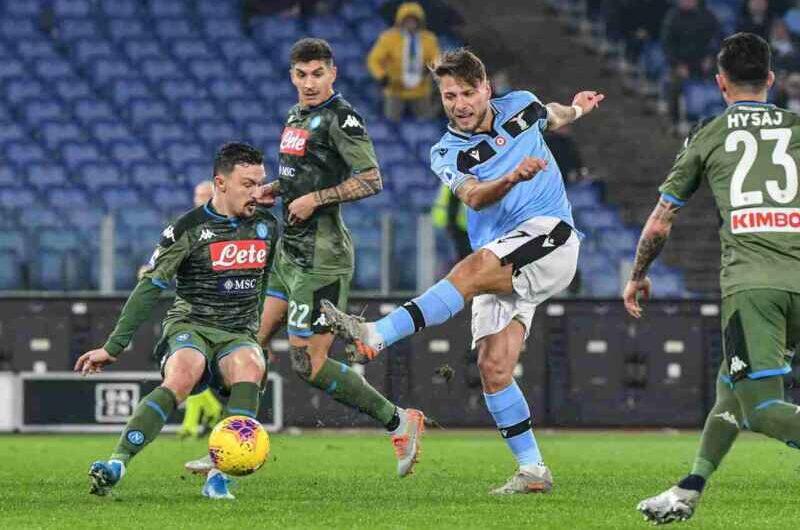 Napoli, i precedenti con la Lazio: biancocelesti non vincono in trasferta da sei anni
