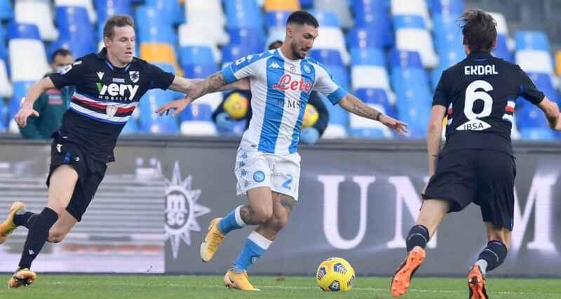 Sampdoria-Napoli, le probabili formazioni: Osimhen favorito su Mertens