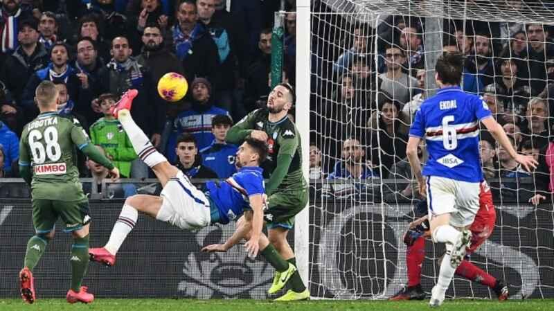 Napoli, attenzione alla Sampdoria: ha creato problemi a molte big