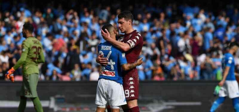 Torino-Napoli: Gattuso ha tre dubbi sulla formazione da schierare