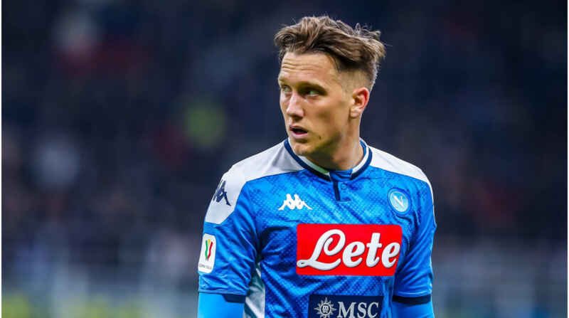 Napoli-Inter: Zielinski scenderà in campo pur non essendo in piena forma
