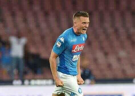 Napoli, in dubbio la presenza di Zielisnki contro l'Inter