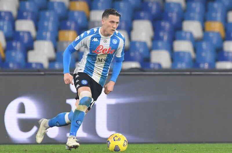 Napoli: contrattura muscolare per Zielinski, può recuperare in vista dell'Inter