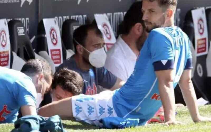 Napoli, il report di oggi: esercitazione tecnica. Mertens terapie