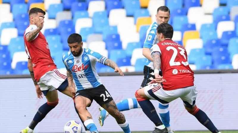 Napoli-Cagliari: le formazioni ufficiali della gara