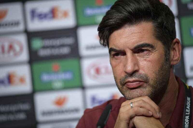 UFFICIALE – Fonseca lascerà la Roma a fine stagione: il comunicato