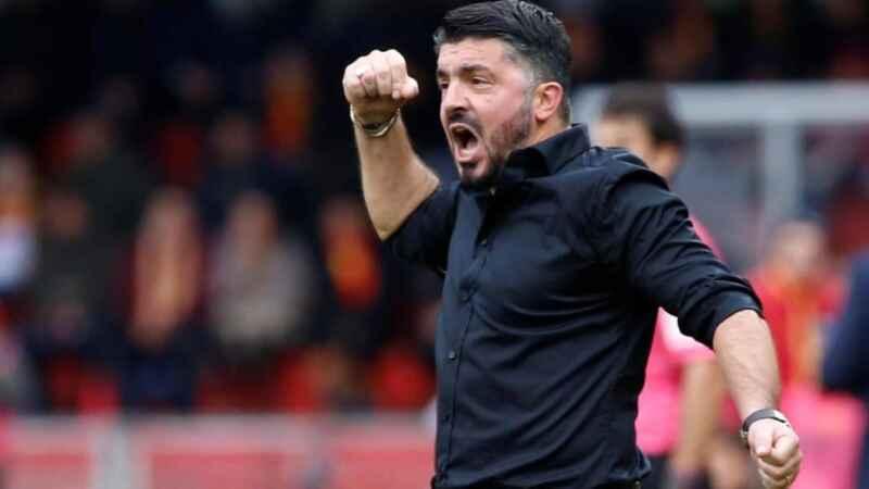 Napoli-Verona, Gattuso conferma la formazione di Firenze