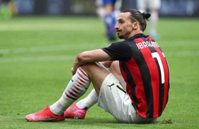 Milan: stagione finita per Zlatan Ibrahimovic, stop di almeno tre settimane