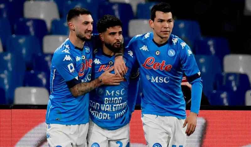 Napoli: oggi vaccino per 4 azzurri in vista di Euro 2021