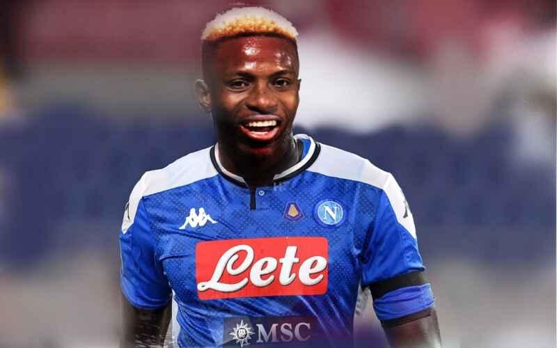 Napoli, infortunio Osimhen: ecco come sta l'attaccante nigeriano