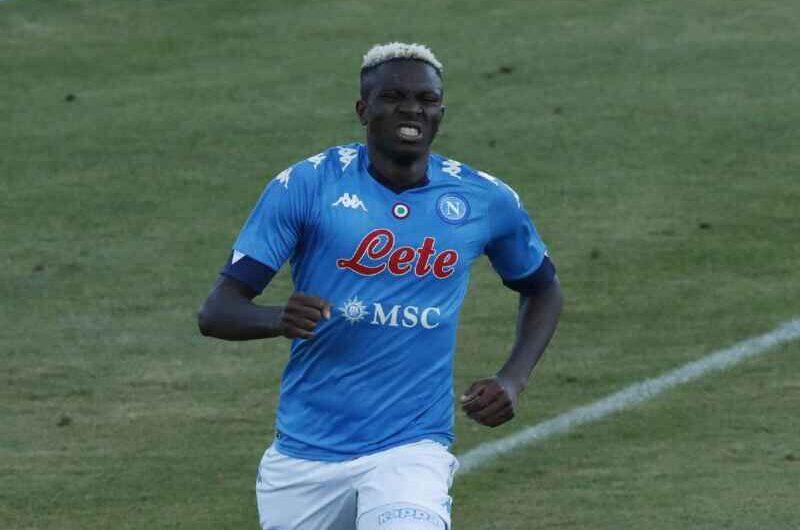 """Napoli, agente Osimhen: """"È orgoglioso di vestire questa maglia"""""""