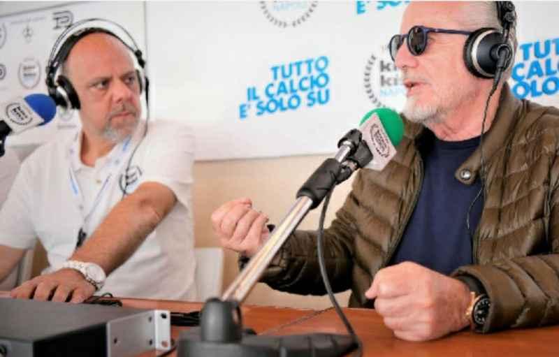 """De Maggio risponde a De Laurentiis: """"Noi pennivendoli? Ci sono imprenditori e imprenditori"""""""