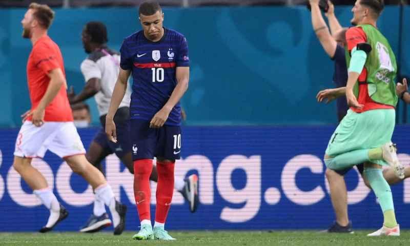 Clamoroso, Euro 2020: La Francia esce agli ottavi di finale, decisivo l'errore di Mbappe dal dischetto
