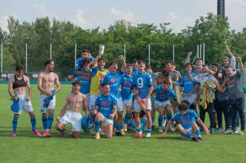 Primavera 2, il Napoli batte il Parma ai playoff e viene promosso