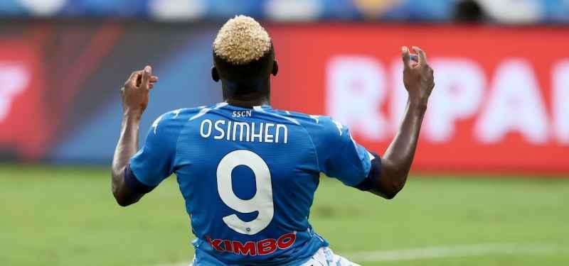 Napoli: ricorso squalifica Osimhen, il club si affiderà alla prova tv