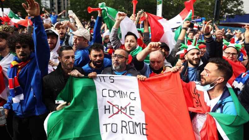 Euro 2020: solo 6500 tifosi italiani per la finale contro l'Inghilterra, la FIGC ne vuole almeno altri 1000